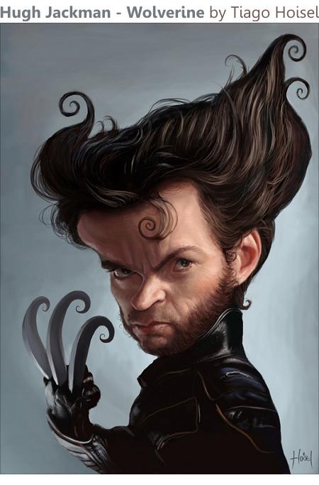 Hugh Jackman - Wolverine by Tiago Hoisel